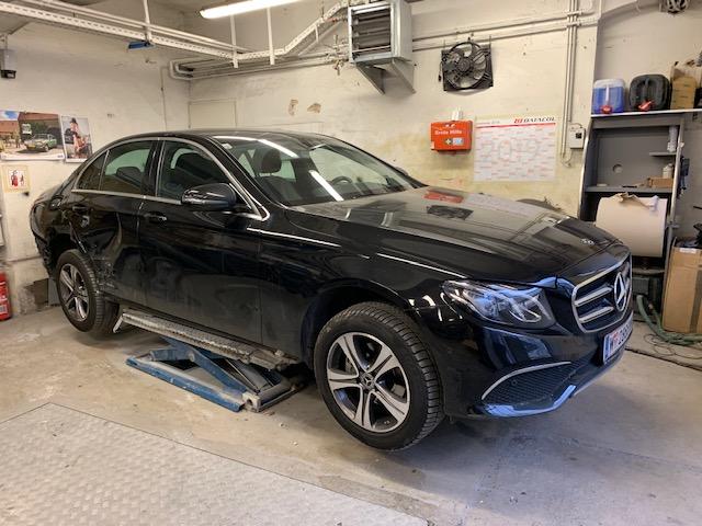 Mercedes Benz E-Klasse Seitenschaden